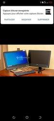 Ordinateur Dell sans unité centrale