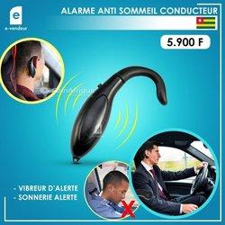 Alarme anti sommeil conducteur