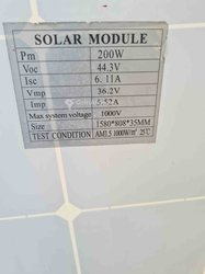 Panneaux solaires 200w