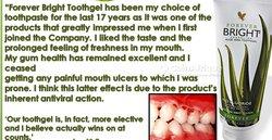 Pâte dentifrice Forever Bright