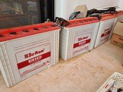 Batteries solaires 12v