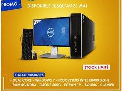 Ordinateur HP Desktop dual core