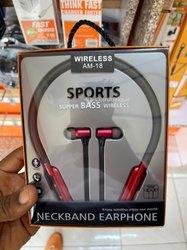 Neckband Earphone Wireless