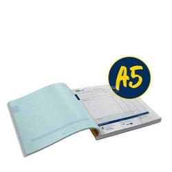 Carnet de facture personnalisé A5