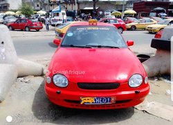 Taxi Toyota Corolla 2008