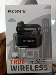 Écouteur bluetooth Sony avec power bank