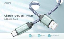 Câbles USB type C