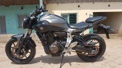 Moto Yamaha MT 07 2017