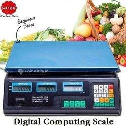 Balance électronique calcul des prix