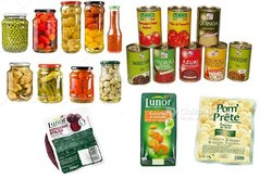 Pack produits alimentaires