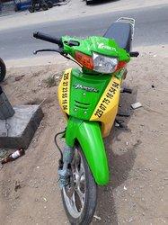 Décoration sur moto