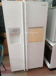 Réfrigérateur américain deux battants