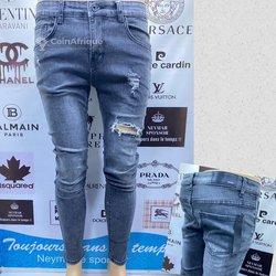 Pantalon Jeans Stretch homme