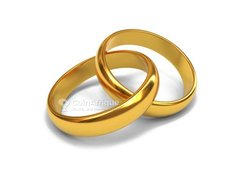 Bagues de mariage 2 pièces