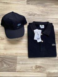 T-shirt Lacoste homme + casquette
