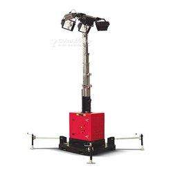 Tour d'éclairage mobile standard mini kit 4x1000w mat hydraulique 9,09m himoinsa