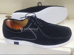 Chaussures Wallabees en daim