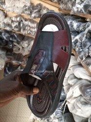 Chaussures homme en cuir
