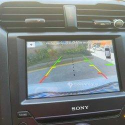 Radio auto écran tactile avec caméra de recul