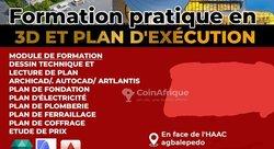 Formation pratique 3D / plan d'execution