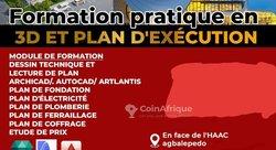 Formation pratique en 3d - plan d'exécution
