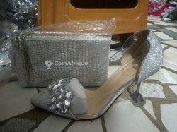 Ensemble sac + chaussures dames