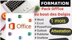 Formation en pack office
