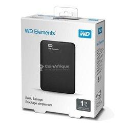 Disque dur externe WD Elements 1 To