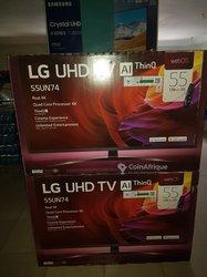 TV LG UHD - 55 pouces
