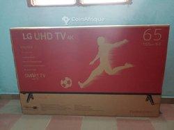 TV LG 43 pouces + régulateur