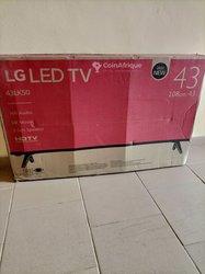 TV LG 43 pouces + régulateur 1000VA