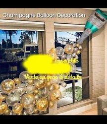 Ballon décoration Champagne