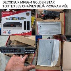 Décodeur MPEG-4 sans parabole
