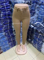 Pantalon jeans dame
