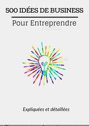 Livre - 500 idées de business pour entreprendre
