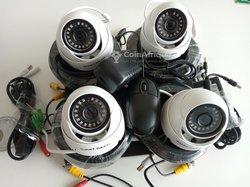 Caméras de surveillance.