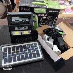 Radio - Lampe -  Panneau solaire