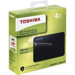 Disque dur externe portable Toshiba - 4To