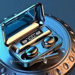 Écouteur bluetooth + chargeur téléphone