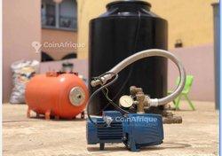 Réservoir d'eau 500l - pompe - suppresseur