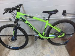Vélo VTT Rockrider 520 jaune no 27,5