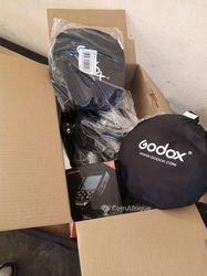 Flash professionnel studio Godox SK 400II + 2 réflecteurs + déclencheur de flash Godox Xpro Trigger
