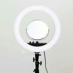 Ring light 18 pouces avec miroir