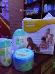 Produits cosmétiques gamme bébé