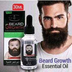 Huile barbe et cheveux