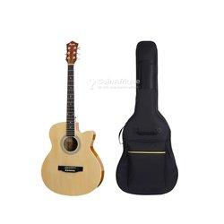 Pack guitare acoustique et housse
