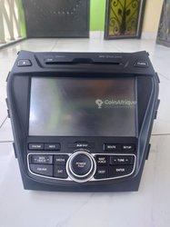 Poste radio Hyundai Santa Fe 2013