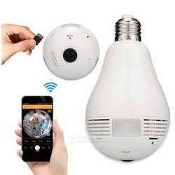 Ampoule caméra wi-fi
