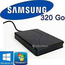 Disque dur externe Samsung - 320 Go
