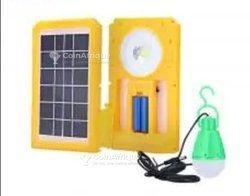Lampe rechargeable avec énergie solaire